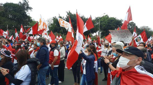 Esta tarde se dará una marcha liderada por Keiko Fujimori haciendo un llamado por el