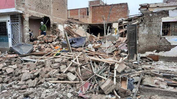 Explosión ocurrió en una vivienda de la cuadra ocho de la calle Paul Harrys del distrito de la Victoria.