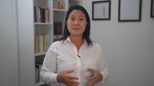 Keiko Fujimori-Elecciones 2021-JNE