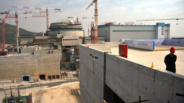 Reactor nuclear de la central de Taishan está bajo vigilancia.