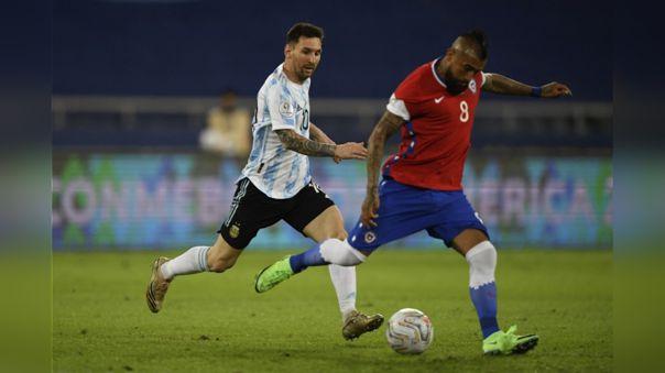 Video Argentina 1 1 Chile Resultado Resumen Y Goles Del Partido Por Jornada 1 De La Copa América 2021 Rpp Noticias