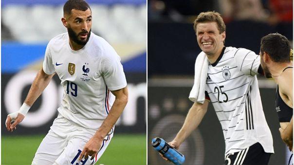 Francia vs Alemania