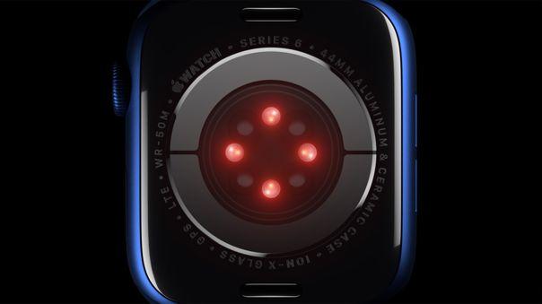 Más sensores en el Apple Watch.