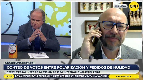 Percy Medina-IDEA-Elecciones 2021