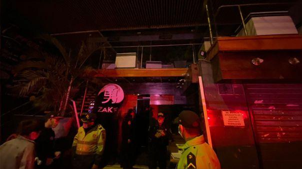 La discoteca 'Picos y Picas' en San Juan de Lurigancho fue intervenida esta madrugada por no respetar la inmovilización social.