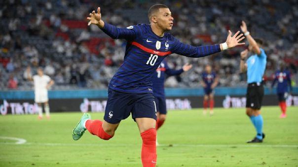 Kylian Mbappé tuvo un gol anulado en el Francia vs. Alemania