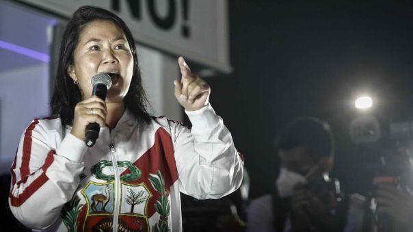 Keiko Fujimori-Elecciones 2021
