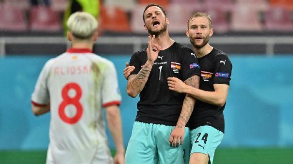 Marko Arnautovic investigado por presuntos insultos racistas en la Eurocopa 2021