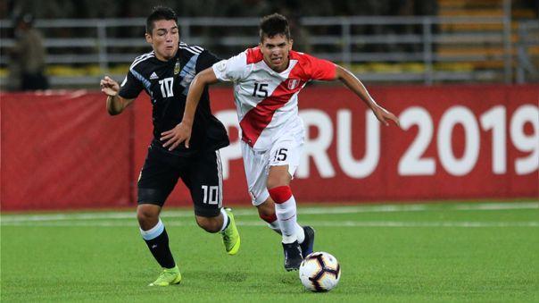Alessandro Burlamaqui integra la Selección Peruana Sub 20