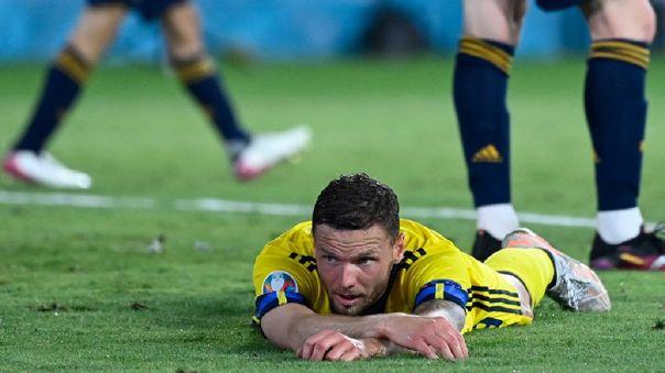 Marcus Berg recibió amenazas tras el España vs. Suecia por la Eurocopa