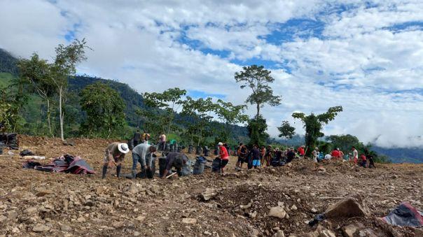 VRAEM: Pobladores de San Miguel del Ene preparan terreno para instalar base antiterrorista