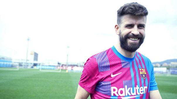 Barcelona presentó su camiseta de la temporada 2021-22