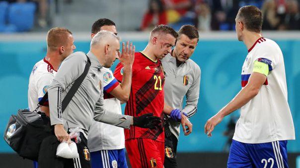 Timothy Castagne será operado por su lesión en la Eurocopa 2021.