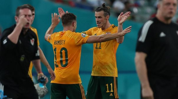 Bale y Ramsey se asociaron para el 1-0 de Gales sobre Turquía