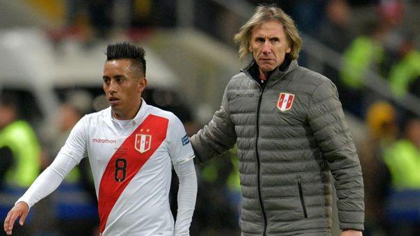 Ricardo Gareca se refirió al caso de Christian Cueva en la Selección Peruana