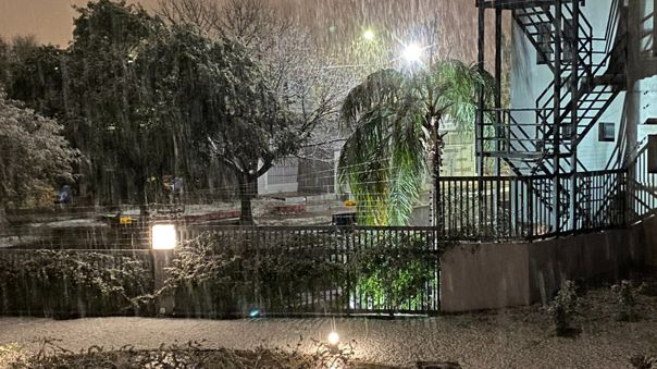 Nieve en Córdoba.