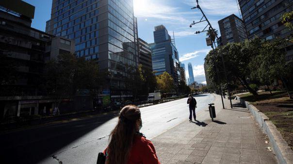 Chile registra menos de 40.000 casos activos