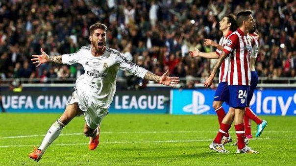 Sergio Ramos ganó cuatro Champions League en Real Madrid.