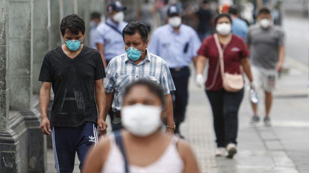 Lima Metropolitana baja a nivel de riesgo alto de contagio de la COVID-19