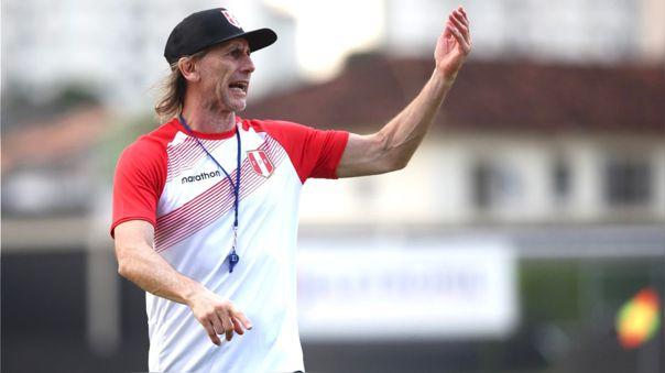 Ricardo Gareca se refirió al debut de Perú ante Brasil en la Copa América