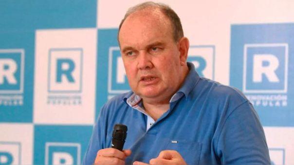 Rafael López Aliaga, ex candidato a la presidencia de Renovación de Popular.