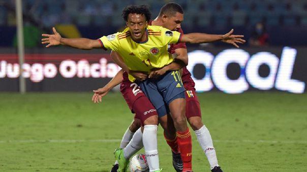 Colombia empató 0-0 con Venezuela por la fecha 2 del grupo B de la Copa América