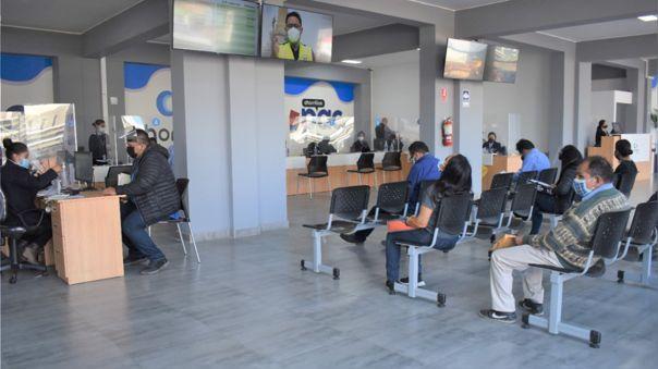 Plataforma de atención al ciudadano en Chorrillos.