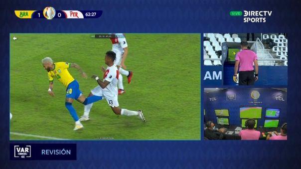 Neymar quiso vender un penal en el Perú vs. Brasil por Copa América 2021.