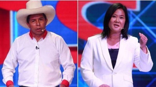 Pedro Castillo-Keiko Fujimori-Elecciones 2021