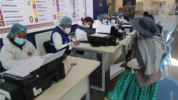Vacunas para Bolivia.