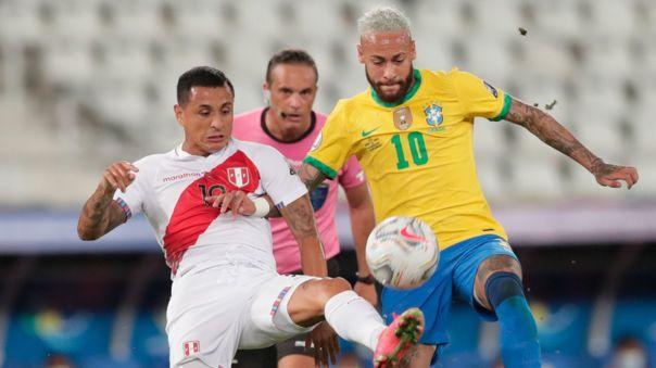 Neymar y Yoshimar Yotún tuvieron discusión en el Perú vs. Brasil