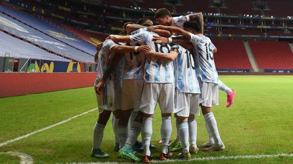 Argentina logró su primera victoria en la Copa América 2021.