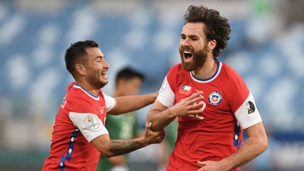 Chile obtuvo su primera victoria en lo que va de la Copa América 2021.