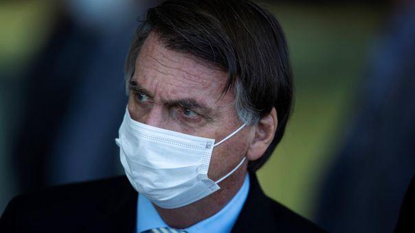 Jair Bolsonaro-Brasil-mascarilla-coronavirus