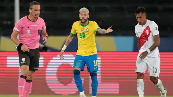 Neymar se quejó de los campos de juego de la Copa América
