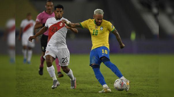 Neymar le anotó a Perú por la Copa América 2021
