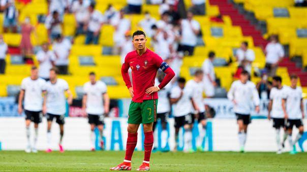 Portugal perdió 2-4 con Alemania por el grupo F de la Eurocopa 2021