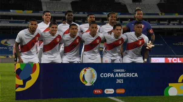 El 11 que prepara Gareca para Perú ante Colombia en Goiania.