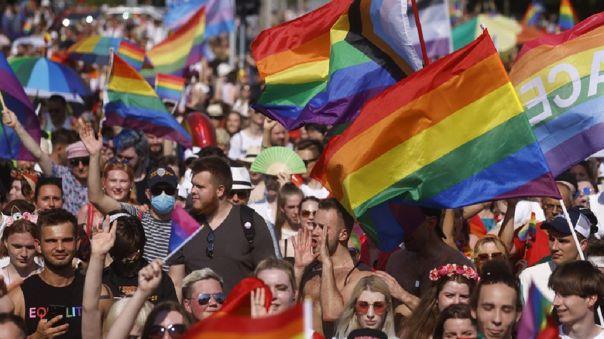 Marcha del orgullo LGTB.