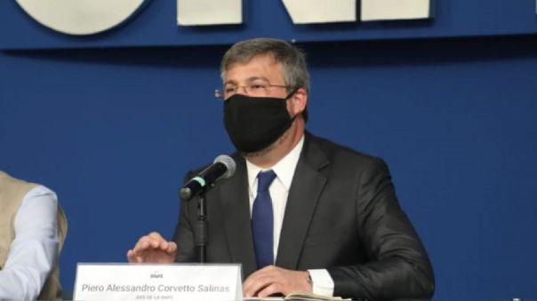 Piero Corvetto, jefe de la ONPE