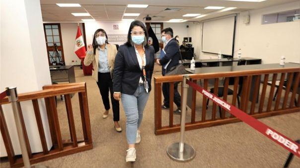 Keiko Fujimori-Poder Judicial-prisión preventiva