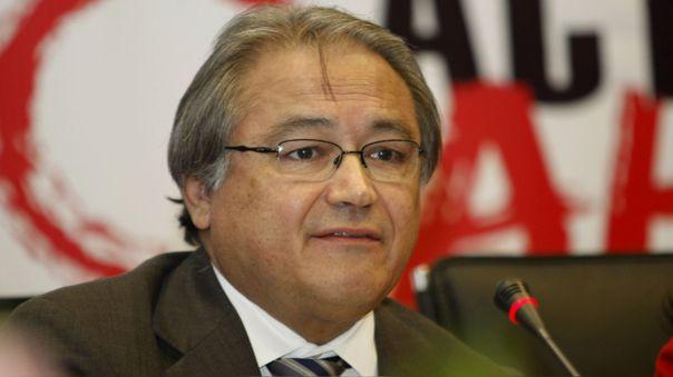 Walter Albán fue Defensor del Pueblo y exministro del Interior.