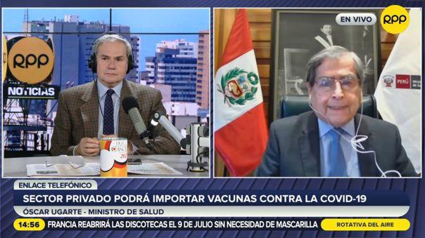 Óscar Ugarte-Minsa-vacunas