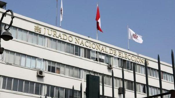 Sede del Jurado Nacional de Elecciones en el Centro de Lima.