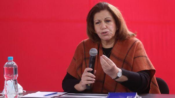 Lourdes Flores Nano, excandidata a la presidencia (2006) por el PPC.