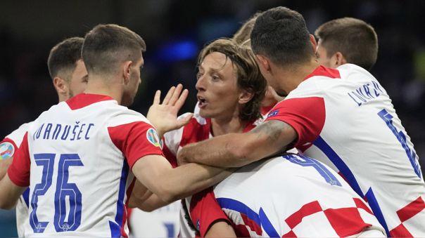 Croacia está en la ronda de los 16 mejores equipo de la Eurocopa.