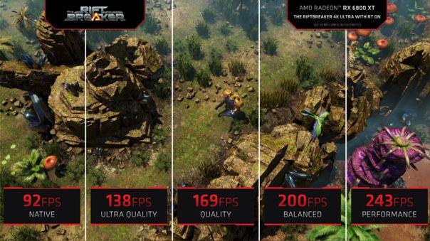 Más cuadros por segundo con tu mismo hardware, la promesa de FSR de AMD.