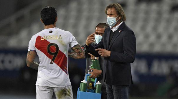 Ricardo Gareca se refirió a las opciones de clasificar a cuartos de la Copa América