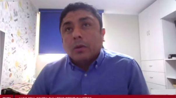 Guillermo Bermejo, congresista de Perú Libre.