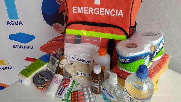 mochila de emergencia